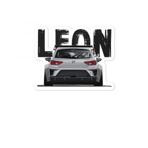 The Seat Leon cup sticker