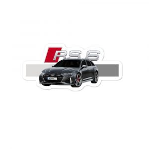 The Audi RS6 sticker