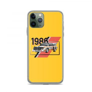 Audi S1 Quattro Yellow iPhone Case