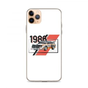 Audi S1 Quattro White iPhone Case
