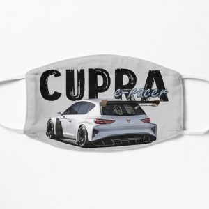 The Cupra E-racer rear face mask